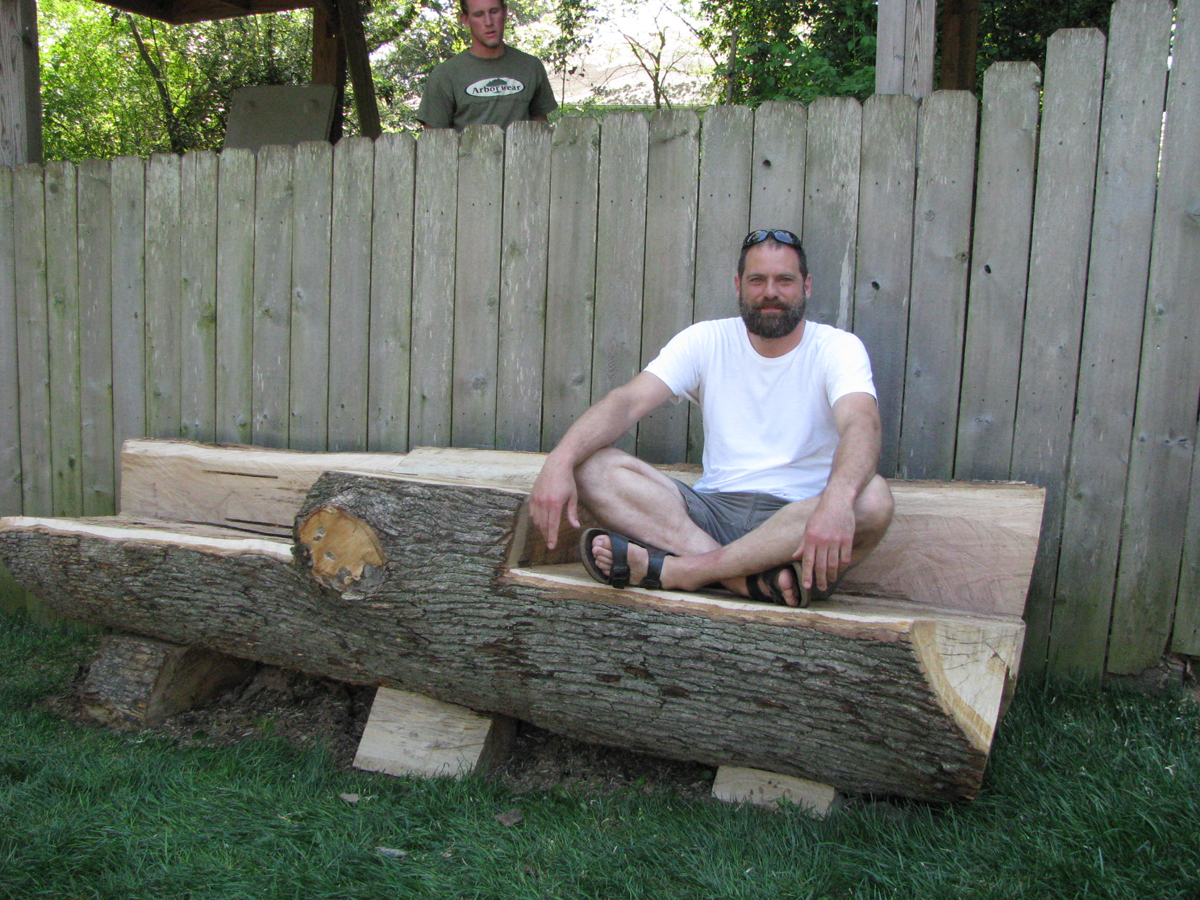 Tree Removal Artistic Solution